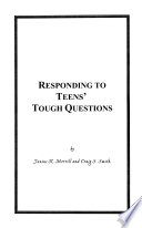 Responding to Teens' Tough Questions