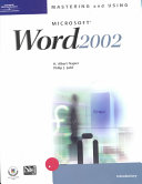 Mastering and Using Microsoft Word 2002