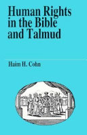 Human Rights In The Bible And Talmud