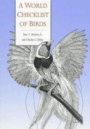 A World Checklist of Birds