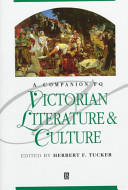 A Companion to Victorian Literature and Culture