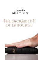 The Sacrament of Language