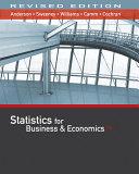 Statistics for Business & Economics + Mindtap Business Statistics With Xlstat, 1 Term 6 Months Printed Access Card + Jmp Printed Access Card for Peck's Statistics