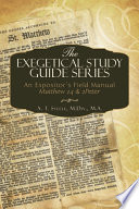 The Exegetical Study Guide Series