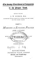 The young churchman s companion to the Prayer book