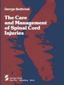The Care and Management of Spinal Cord Injuries Book