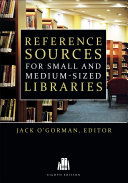Reference Sources for Small and Medium-Sized Libraries Pdf/ePub eBook