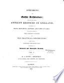 Specimens of Gothic Architecture Book PDF