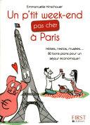 Petit livre de - P'tit week-end pas cher à Paris