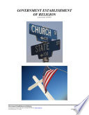 Government Establishment of Religion  Form  05 038