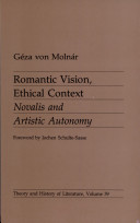 Romantic Vision, Ethical Context