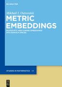 Metric Embeddings