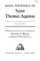 Basic Writings of Saint Thomas Aquinas  Man and the conduct of life  Summa contra gentiles  III  chapters 1 113