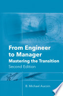 From Engineer to Manager  Mastering the Transition  Second Edition Book
