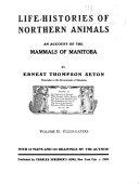 Life-histories of Northern Animals