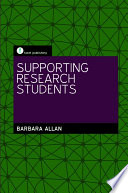 Supporting Research Students Book