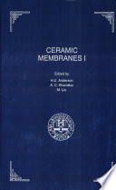 Proceedings of the First International Symposium on Ceramic Membranes