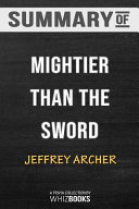 Summary of Mightier Than the Sword  A Novel  the Clifton Chronicles   Trivia Quiz for Fans Book