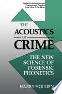 The Acoustics Of Crime Book PDF