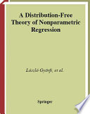 A Distribution Free Theory Of Nonparametric Regression
