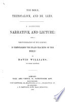 The Bible  Teetotalism  and Dr  Lees  A Concise Narrative and Lecture  Etc
