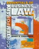 Essentials of Contemporary Business Law Book PDF