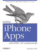 Pdf Building iPhone Apps with HTML, CSS, and JavaScript Telecharger
