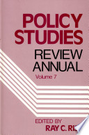 Policy Studies Review Annual Book