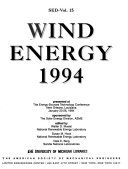 Wind Energy 1994 Book PDF