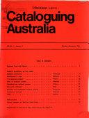Cataloguing Australia