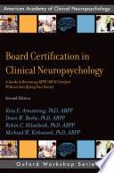 Board Certification In Clinical Neuropsychology