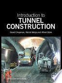 Introduction to Tunnel Construction Book