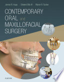 """Contemporary Oral and Maxillofacial Surgery E-Book"" by James R. Hupp, Myron R. Tucker, Edward Ellis"