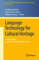 Language Technology for Cultural Heritage