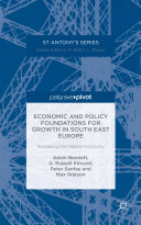 Economic and Policy Foundations for Growth in South East Europe Pdf