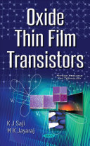 Oxide Thin Film Transistors