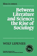 Between Literature and Science