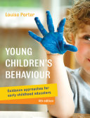 Young Children S Behaviour Book