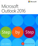 Cover of Microsoft Outlook 2016 Step by Step