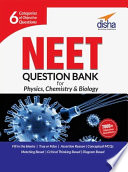 NEET/ AIIMS Objective Question Bank for Physics, Chemistry & Biology