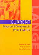 Current Diagnosis   Treatment in Psychiatry Book