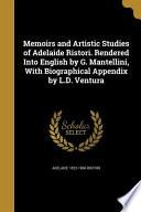 MEMOIRS & ARTISTIC STUDIES OF