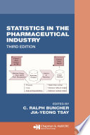 Statistics In the Pharmaceutical Industry