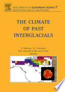 The Climate of Past Interglacials Book