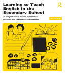 Learning to Teach English in the Secondary School