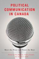 Political Communication in Canada Pdf