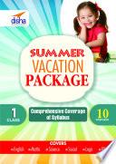 Summer Vacation Worksheet Class 1