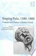 Staging Pain, 1580-1800 Pdf/ePub eBook