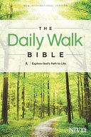Daily Walk Bible NIV  Explore God s Path to Life