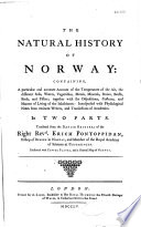 The Natural History of Norway...